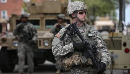 استنفار للجيش الأمريكي في الأنبار بعد الهجوم الصاروخي على أربيل