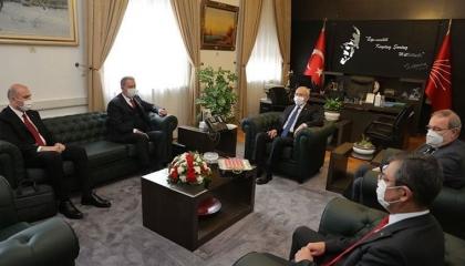 حليف أردوغان يرفض لقاء وزيري الدفاع والداخلية مع زعيم المعارضة: مضيعة للوقت