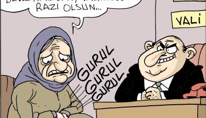 كاريكاتير: رعب اسمه «أردوغان».. الرئيس التركي يرهب العجائز!