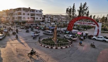 قتيل وجرحى في اشتباكات عنيفة بمدينة الباب السورية