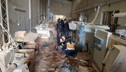 بالصور.. مصرع وإصابة 7 أشخاص في انفجار مصنع للأثاث بمدينة بورصة التركية