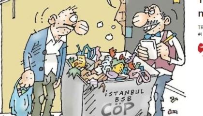 كاريكاتير: في عهد أردوغان.. الأتراك يبيعون القمامة للمحتاجين!