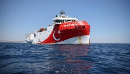 «الأناضول» تزعم: مقاتلات يونانية تتحرش بسفينة تركية في بحر إيجة