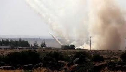 المرصد السوري يرصد جانبًا من قصف القوات التركية لشمال الرقة