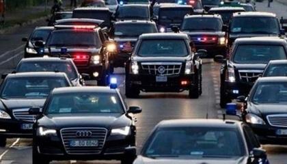 موكب أردوغان يتجه لصلاة الجمعة.. كم سيارة يحوي؟