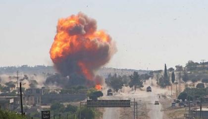 انفجارات بشمال سوريا قرب منطقتي الباب وجرابلس.. وغموض حول مصدرها