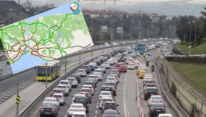 شلل مروري في إسطنبول بعد  رفع حظر التجول