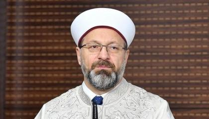 رئيس الشؤون الدينية التركية يعلن شفاءه من كورونا