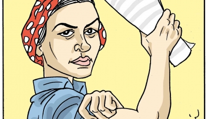 كاريكاتير: قبل يوم المرأة.. سيدات تركيا يرفعن شعارات «اتفاقية إسطنبول»