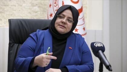 وزيرة الأسرة التركية تتعهد بأشد العقوبات لمجرم الاعتداء الهمجي على طليقته