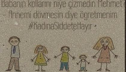 صورة اليوم في تركيا.. الطفل الفنان يبتر ذارعي أبيه: «حتى لا يضرب أمي»