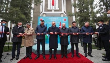 وزير الخارجية التركي يفتتح قنصلية بلاده في سمرقند