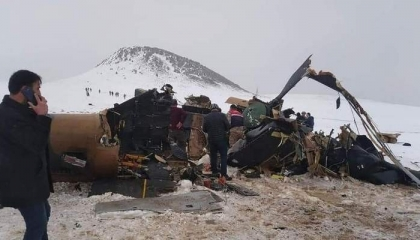 «الدفاع» التركية: تسرد رحلة المروحية المتحطمة والسبب الأساسي وراء سقوطها
