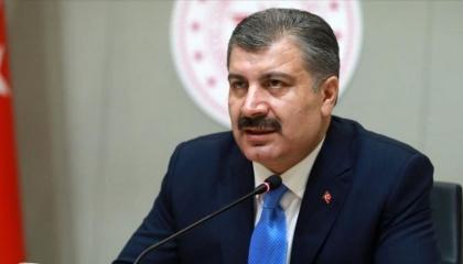 وزير الصحة التركي: كابوس كورونا لن يستمر على حاله خلال عام 2021