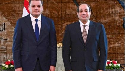 بعد تهنئة من السيسي.. رئيس الحكومة الليبية: متفائلون بعلاقة قوية مع مصر