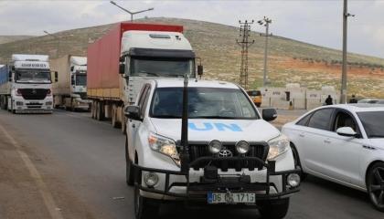 الأمم المتحدة ترسل 83 شاحنة مساعدات إلى سوريا
