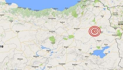 زلزال بقوة 3.3 درجات يضرب مدينة «آغري» التركية