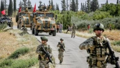 القوات التركية تقصف 5 قرى ضمن مناطق انتشار القوات الكردية بريف حلب