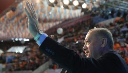 انطلاق مؤتمر «العدالة والتنمية» لتجديد الثقة لأردوغان