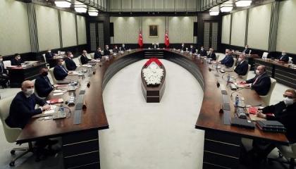 بالأسماء.. الرئيس التركي يقر تعديلًا وزاريًا جديدًا