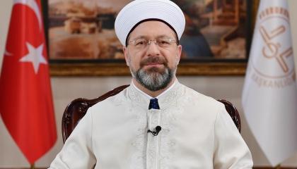 رئيس الشؤون الدينية التركية يزور اعتصام الأسر أمام حزب الشعوب الديمقراطي