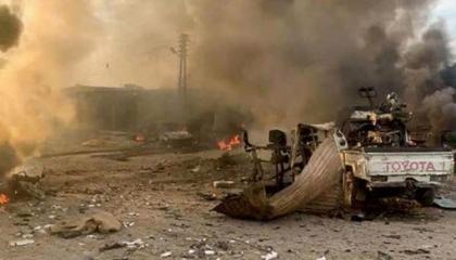 مقتل 4 جنود أتراك في انفجارين بالحسكة السورية