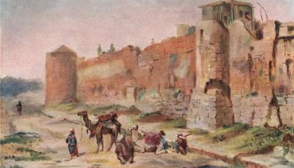 على طريقة تيمورلنك.. رجال الباشا العثماني يجلبون الدمار لدمشق