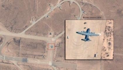 هبوط طائرة عسكرية تركية بقاعدة الوطية الليبية