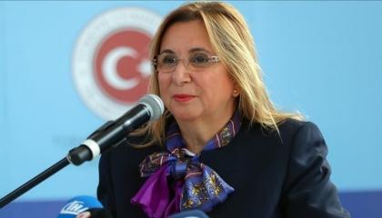 وزيرة التجارة التركية: نسعى لزيادة استثماراتنا مع أذربيجان لـ15مليار دولار