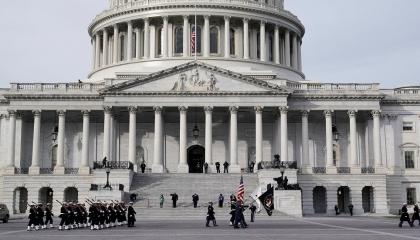 بعد تهديد أمني.. إغلاق مبنى الكونجرس الأمريكي