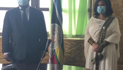 إثيوبيا تبحث مع أوغندا تعزيز تعاونهما في قطاع الدفاع العسكري