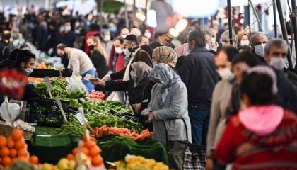 ارتفاع معدل التضخم في إسطنبول بنسبة 1.67 % خلال مايو