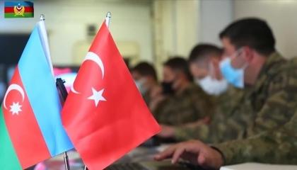 مناورات عسكرية مشتركة بين تركيا وأذربيجان