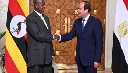 أوغندا توقع مع مصر اتفاقية لتبادل المعلومات العسكرية والاستخباراتية