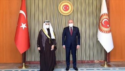 رئيس البرلمان التركي: مستعدون للحوار مع كل دول المنطقة دون شروط مسبقة