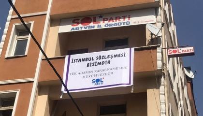 الشرطة التركية تداهم مقر حزب اليسار بأرتفين وتعتقل 4 من قياداته