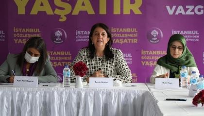 رئيسة حزب الشعوب الديمقراطي: الانسحاب من اتفاقية إسطنبول انقلاب ضد النساء