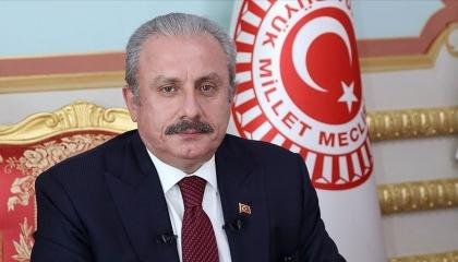 رئيس البرلمان التركي يدين العدوان الصهيوني على الفلسطينيين