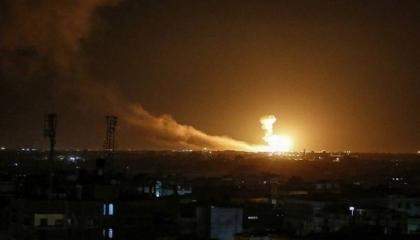 قصف صاروخي يستهدف القاعدة أمريكية في مطار أربيل وقوات تركية شرق الموصل
