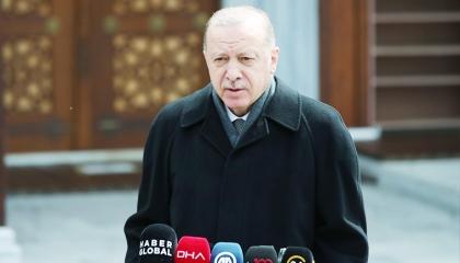أردوغان: غارات تل أبيب على غزة تهدد العلاقات التركية الإسرائيلية