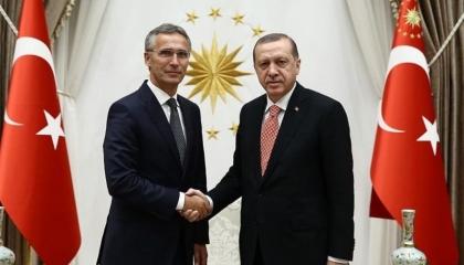 أردوغان لأمين عام حلف الناتو: الهدوء يهيمن على إيجة والمتوسط بفضل تركيا