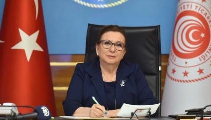 وزيرة تركية تبيع معقمات لحكومتها بـ9 ملايين ليرة.. والمعارضة تفضحها