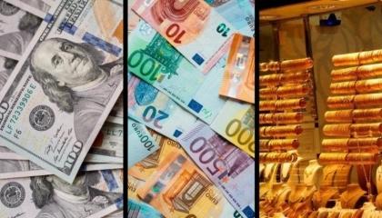 ارتفاع أسعار الذهب واستقرار الدولار واليورو أمام الليرة التركية