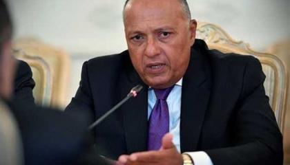 شكري يسلم رئيس جنوب أفريقيا رسالة السيسي حول مفاوضات سد النهضة