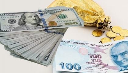 الذهب بـ506 ليرات.. ارتفاع أسعار العملات الأجنبية في تركيا