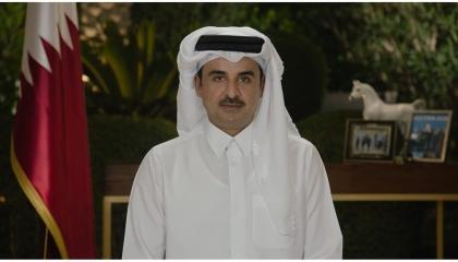 أمير قطر يبحث مع وزير سعودي سبل تعزيز العلاقات الثنائية