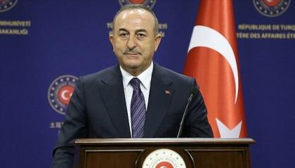 وزير الخارجية التركي من طرابلس: وجودنا العسكري في ليبيا «قانوني»
