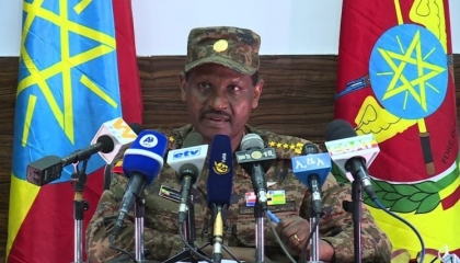 قائد الجيش الإثيوبي يحذر مواطنيه: أعداء الخارج يعززون قوتهم لتدمير إثيوبيا