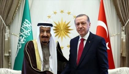 الرئيس التركي يجري اتصالًا هاتفيًا بالعاهل السعودي