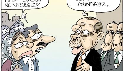 كاريكاتير: مَن يدفع فاتورة الإغلاق التام لتركيا؟!